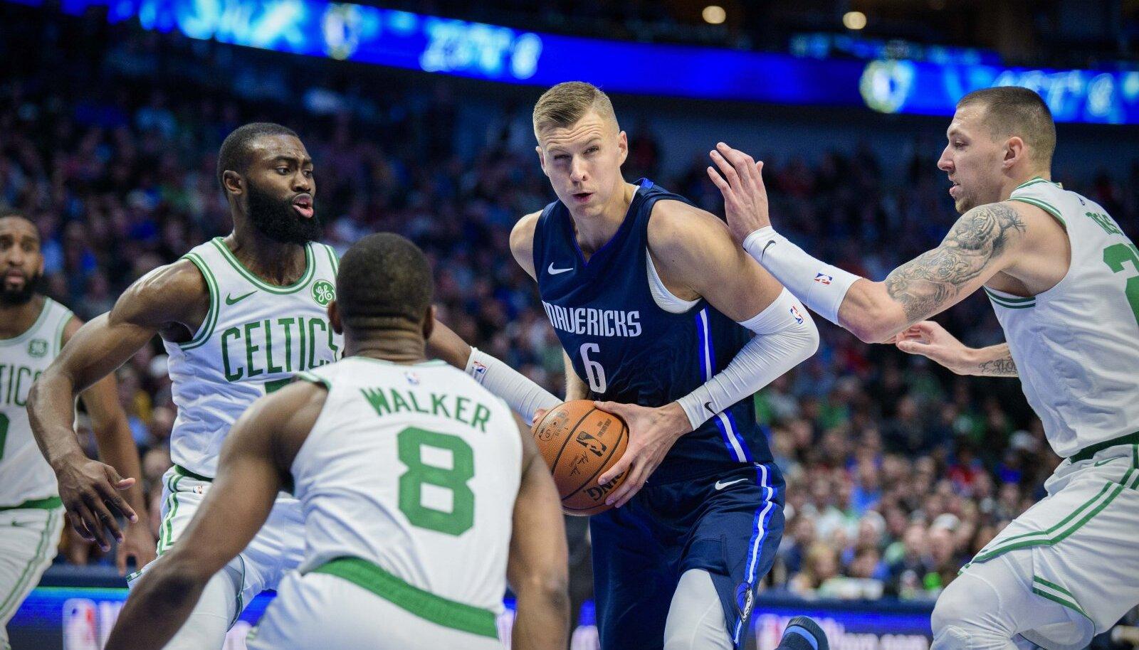 Kristaps Porzingise kaksikduublist jäi Boston Celticsi vastu väheks.