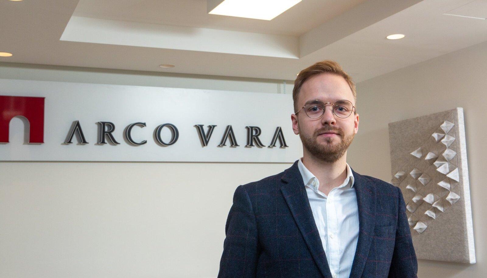 2020. aastal Arco Vara juhi ametisse asunud Miko-Ove Niinemäe (fotol) on investor Madis Müüri sõnul suutnud lühikese aja jooksul edukalt eesmärke täita ja on tugev nii ehituse, arenduse kui ka arvude vallas, mis lisab investeerimiseks kindlust.