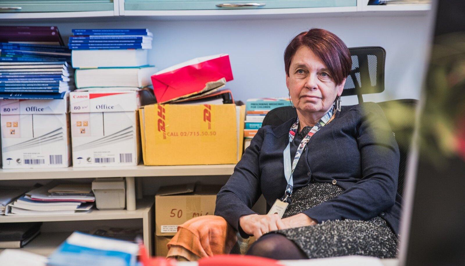 KAITSE PÜSIB: Irja Lutsari sõnul peaksid vaktsiinid aitama ka praegu mõndades riikides hoogsalt leviva delta tüve vastu.