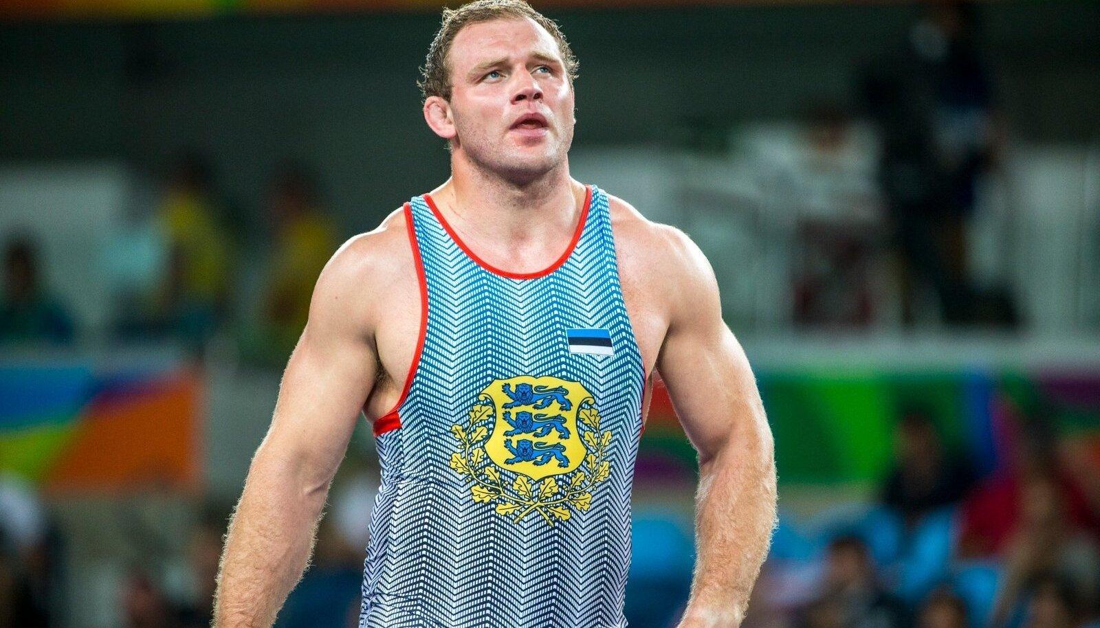 Heiki Nabi Rio olümpial.