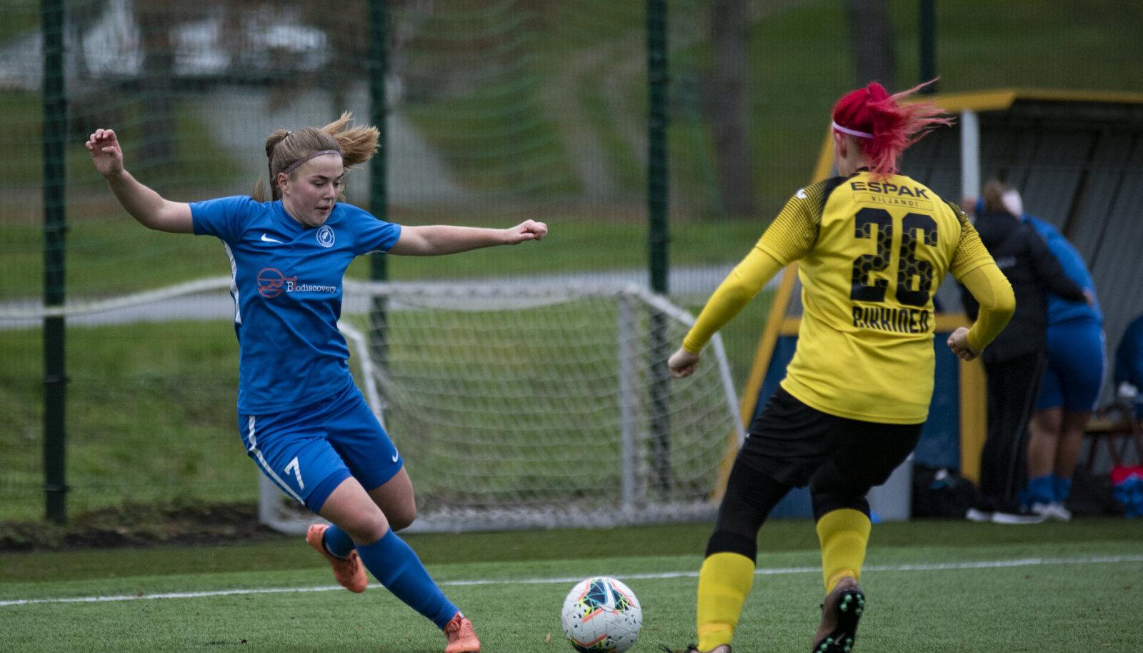 Naiste jalgpalli meistriliiga stardib  27. märtsil