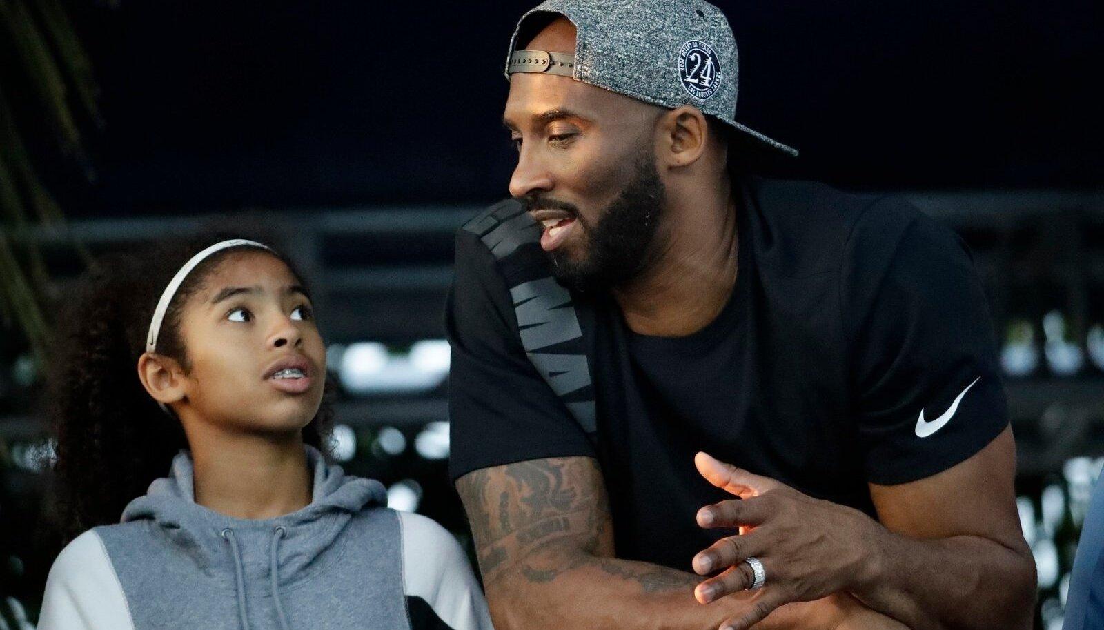 Kobe Bryant ja Gianna