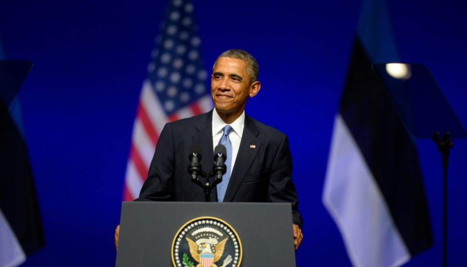 Barack Obama Nordea kontserdimajas