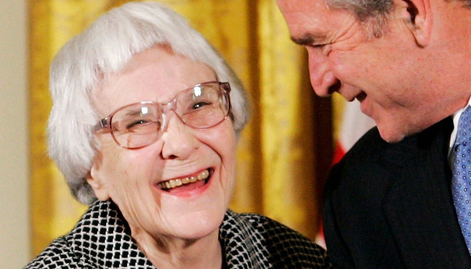File photo of U.S. President George W. Bush awarding the Presidential Medal of Freedom in Washington