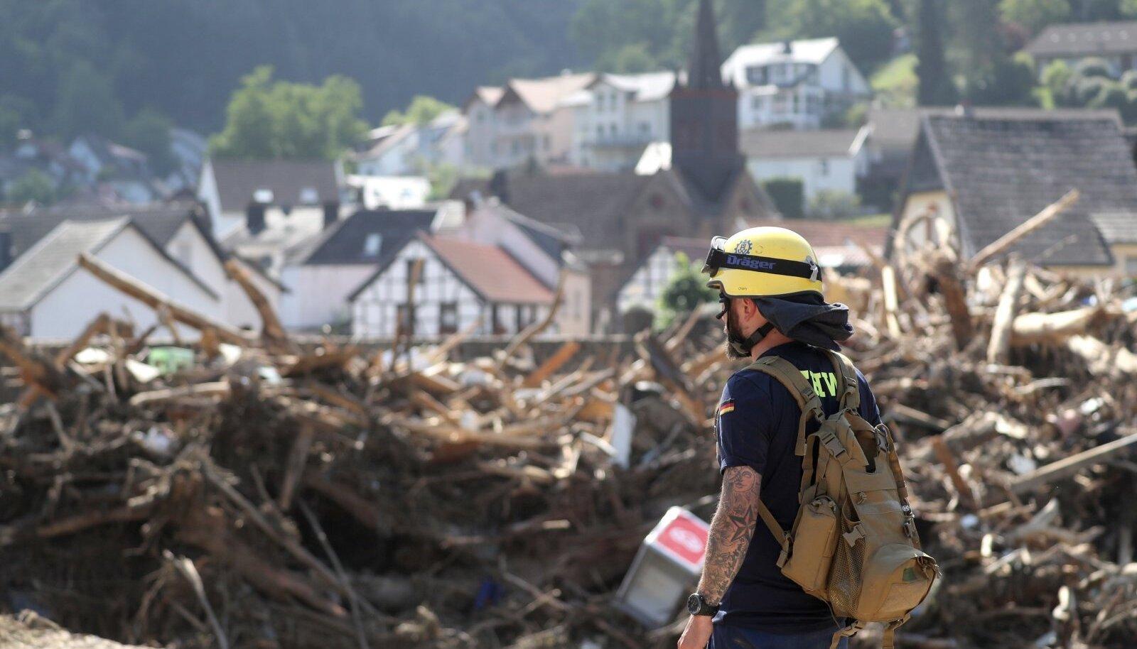 Mõni nädal tagasi tabas Kesk-Euroopat viimase poolsajandi suurim looduskatastroof ning tormid ja uputused laastasid Saksamaad ja naaberriike.