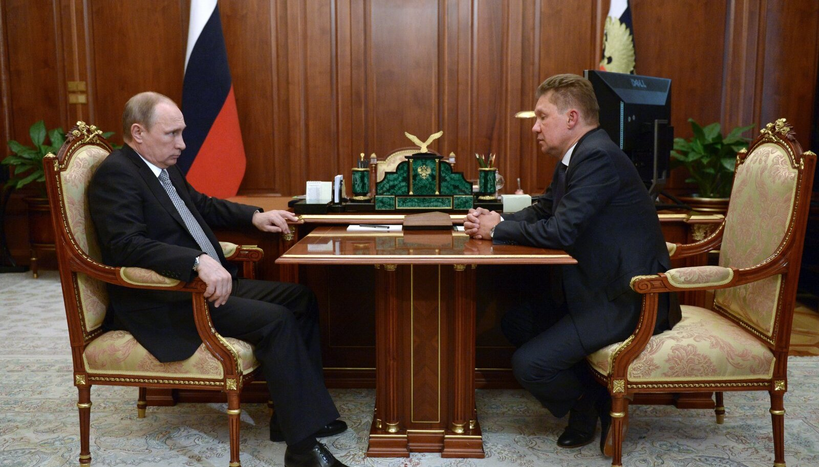 Vladimir Putin ja Aleksei Miller