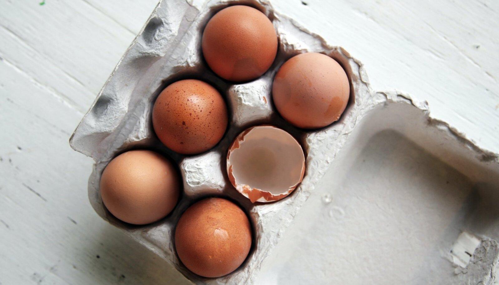 Infot munade kohta saab lugeda nii munadelt kui ka pakendilt.