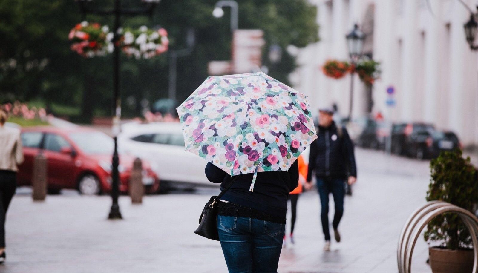 Vihmane ilm.