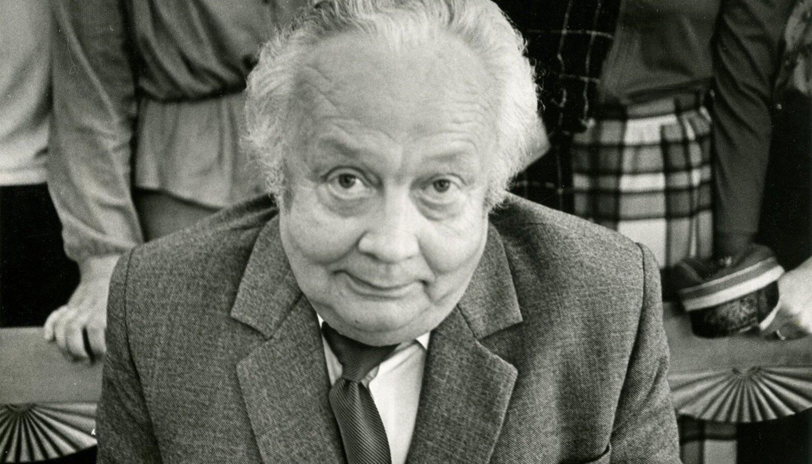 Juhan Peegel oli ajakirjanduse isa, kelle 100. sünniaastapäeva auks kogunevad tema üliõpilased sel nädalavahetusel Tartus.