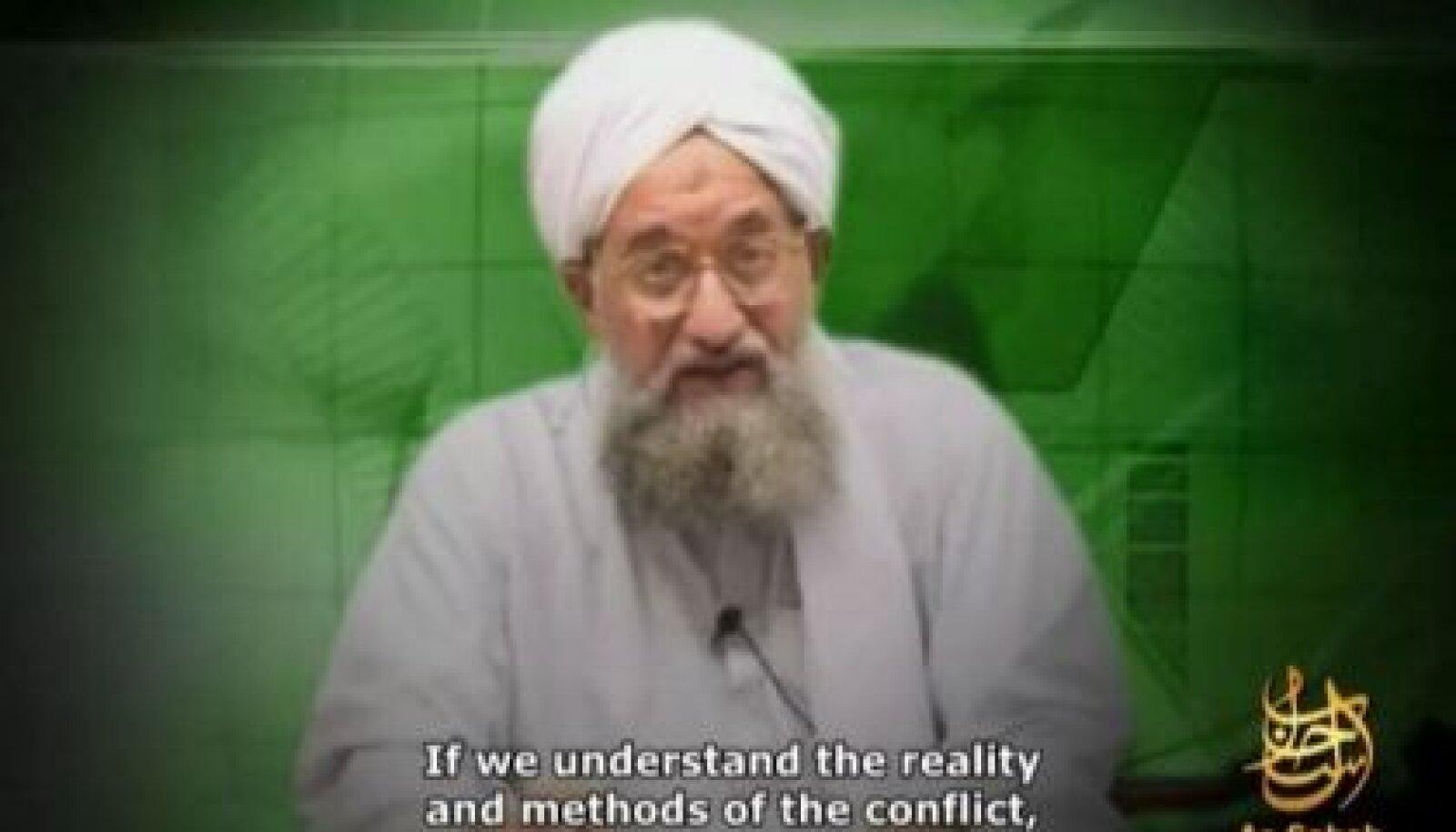 Al-Qaida teine mees Ayman al-Zawahiri