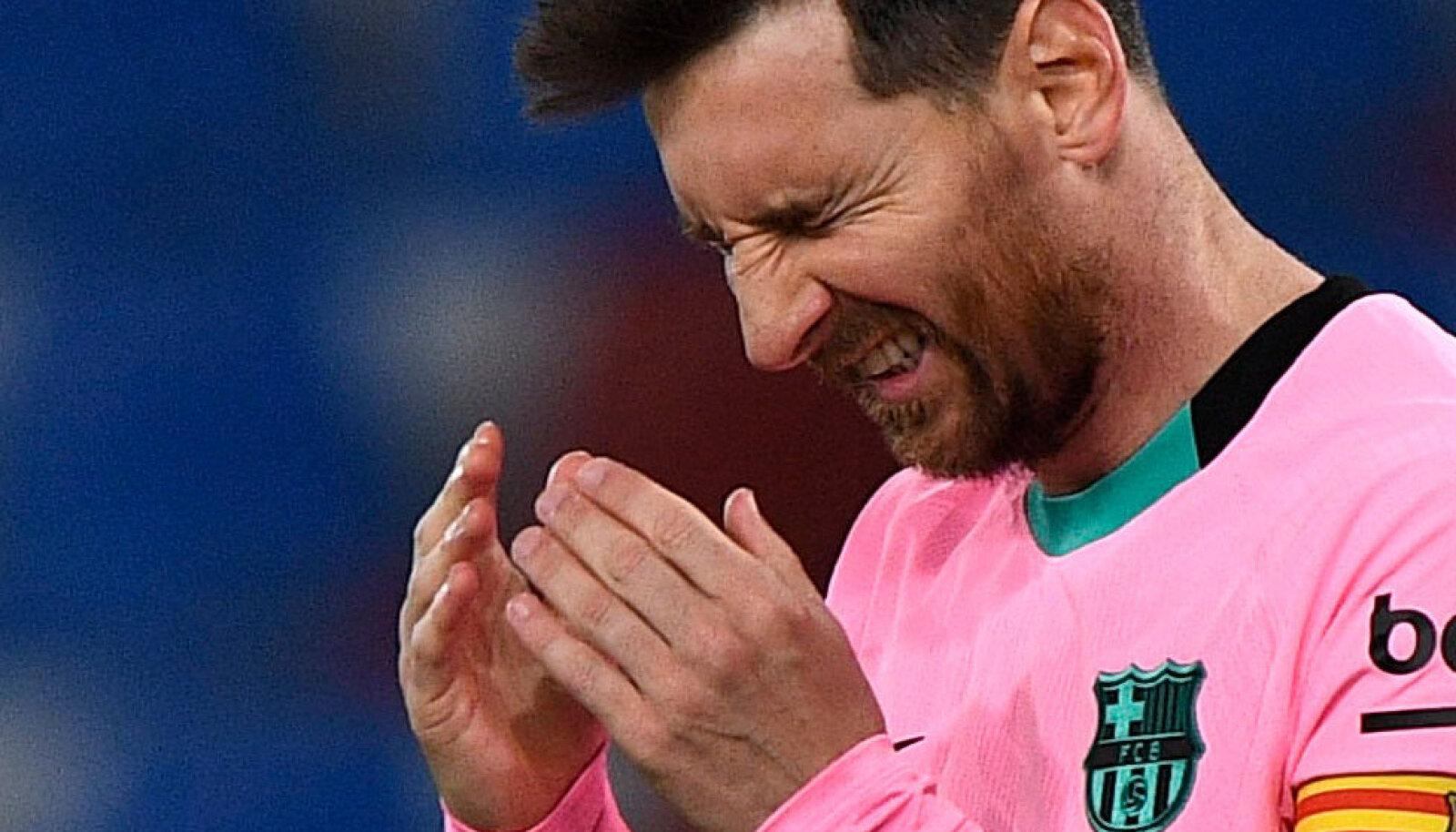 Lionel Messi ei suuda Barcelonat tänavu tiitlile vedada