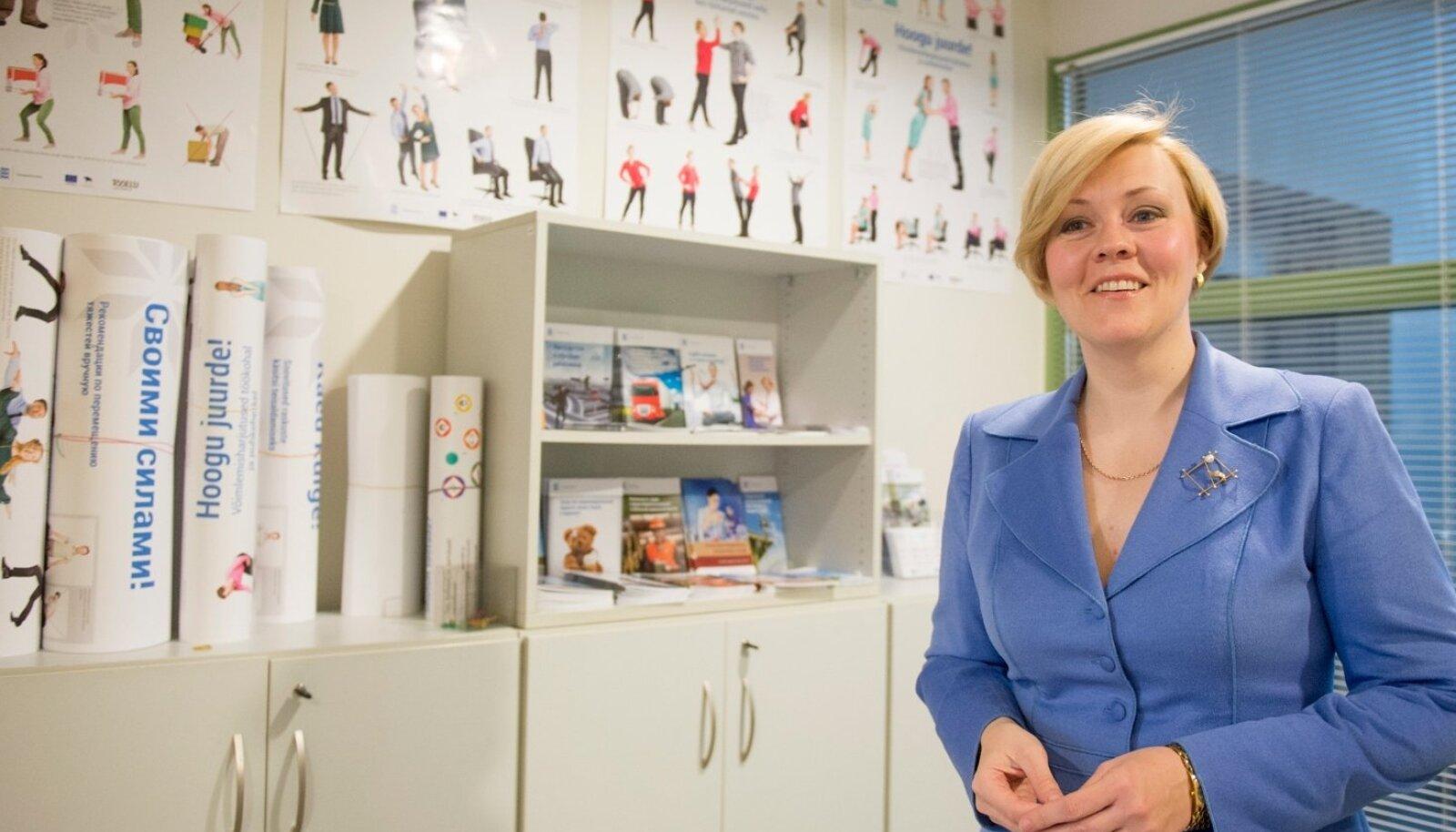 Tööinspektsiooni peadirektor Maret Maripuu ütleb, et riik peaks tööohutuse väärtustamisel eeskuju näitama.