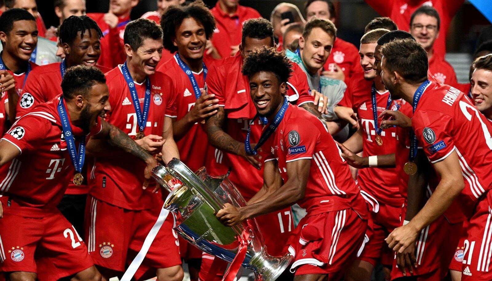 Müncheni Bayern võitis augustis Meistrite liiga trofee. Uue hooaja eel on nad taas suurimad favoriidid.