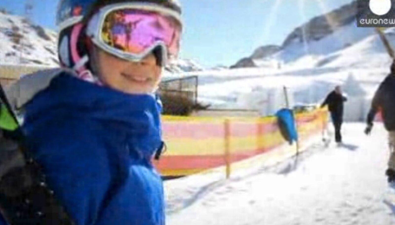 Kelly Sildaru EuroNewsi videos