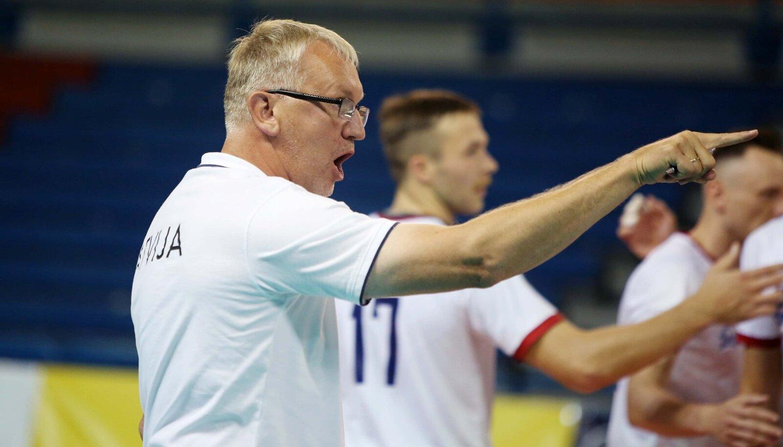 Avo Keele juhitav Läti meeskond on eesmärgile väga lähedal.