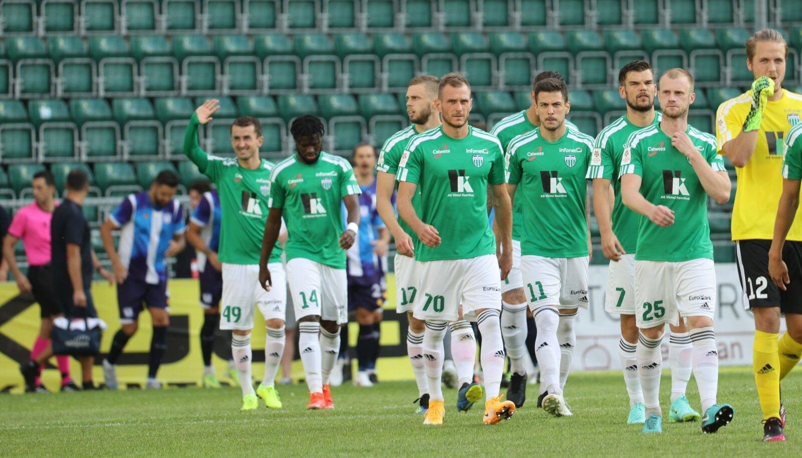FCI Levadia jalgpalliklubi mängijad
