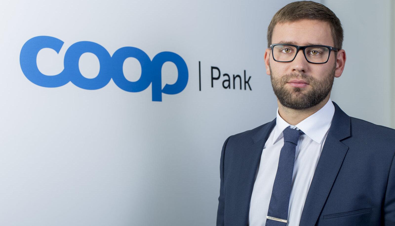 Coop Panga erakliendi igapäevapanganduse juht Teet Kerem