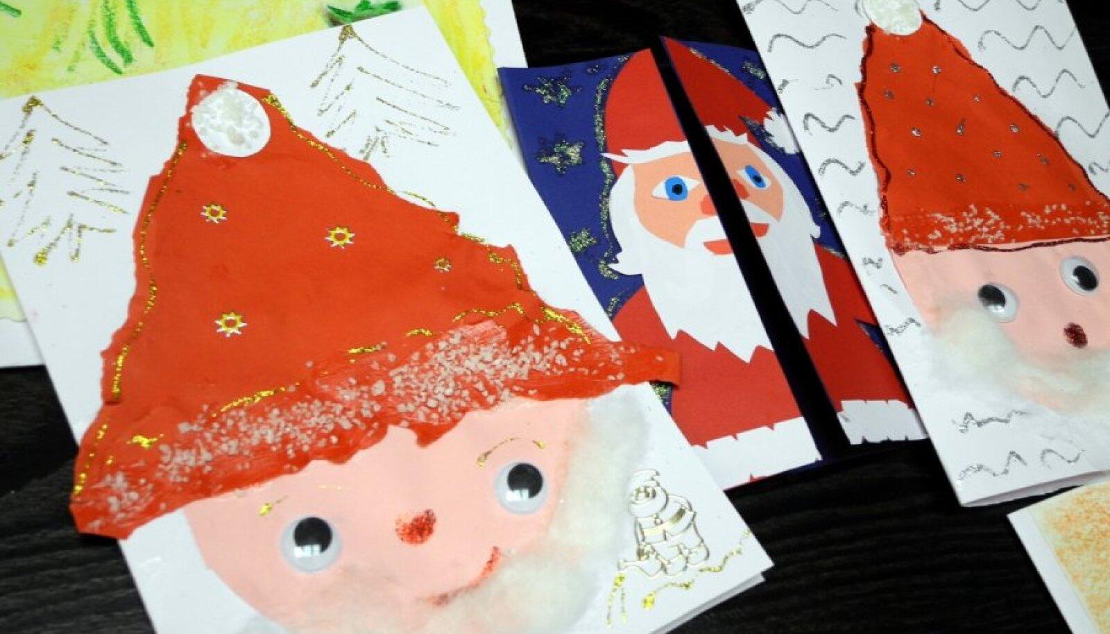 Laste jõulukaardid