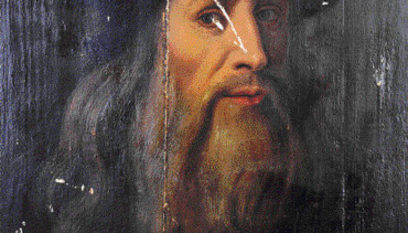 Kui Itaalia erakogust leitud maali autorsus on kaheldav, siis maalitu on kindlatel andmetel da Vinci.
