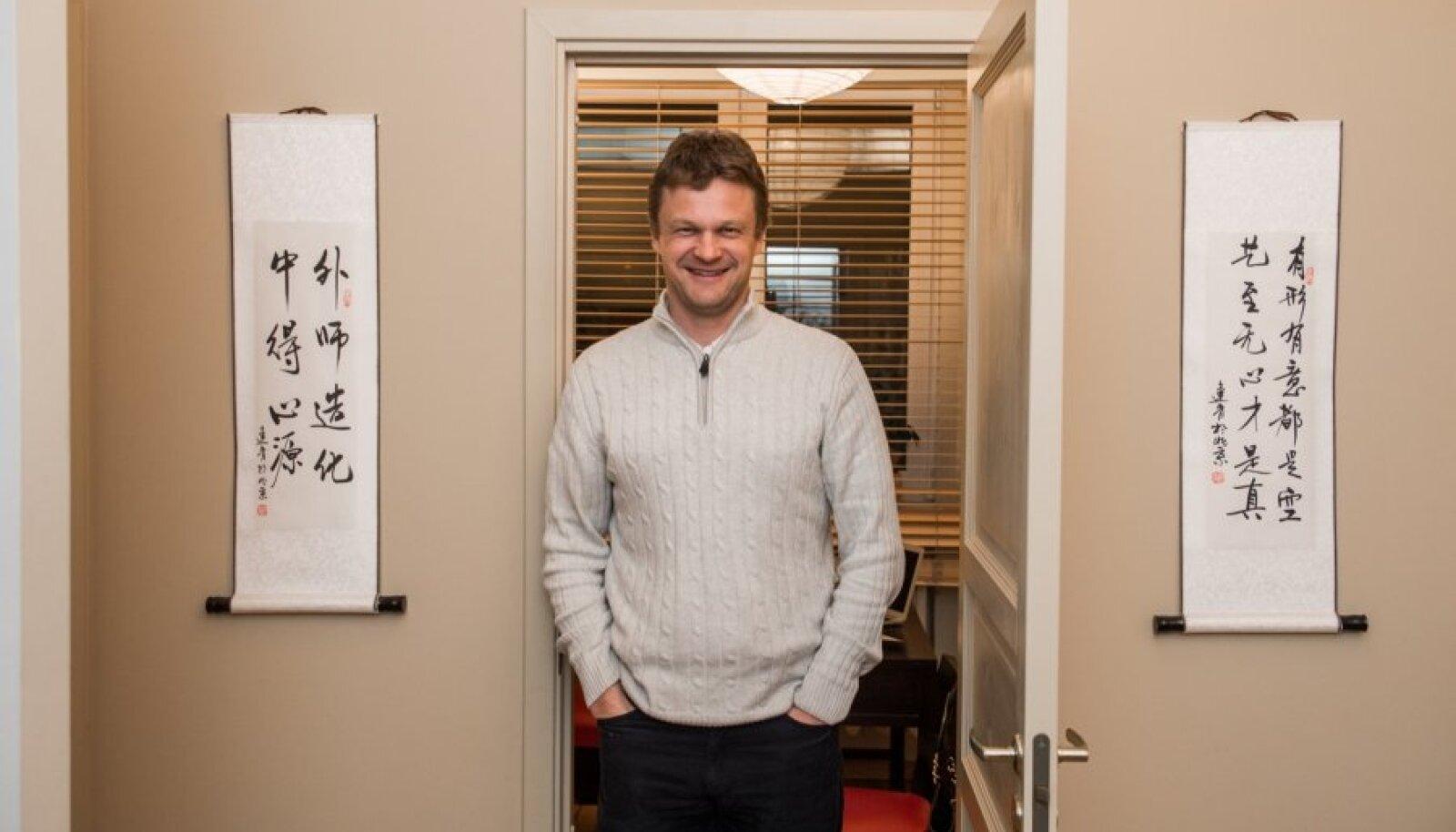 Rene Bürkland, Hiina meditsiin
