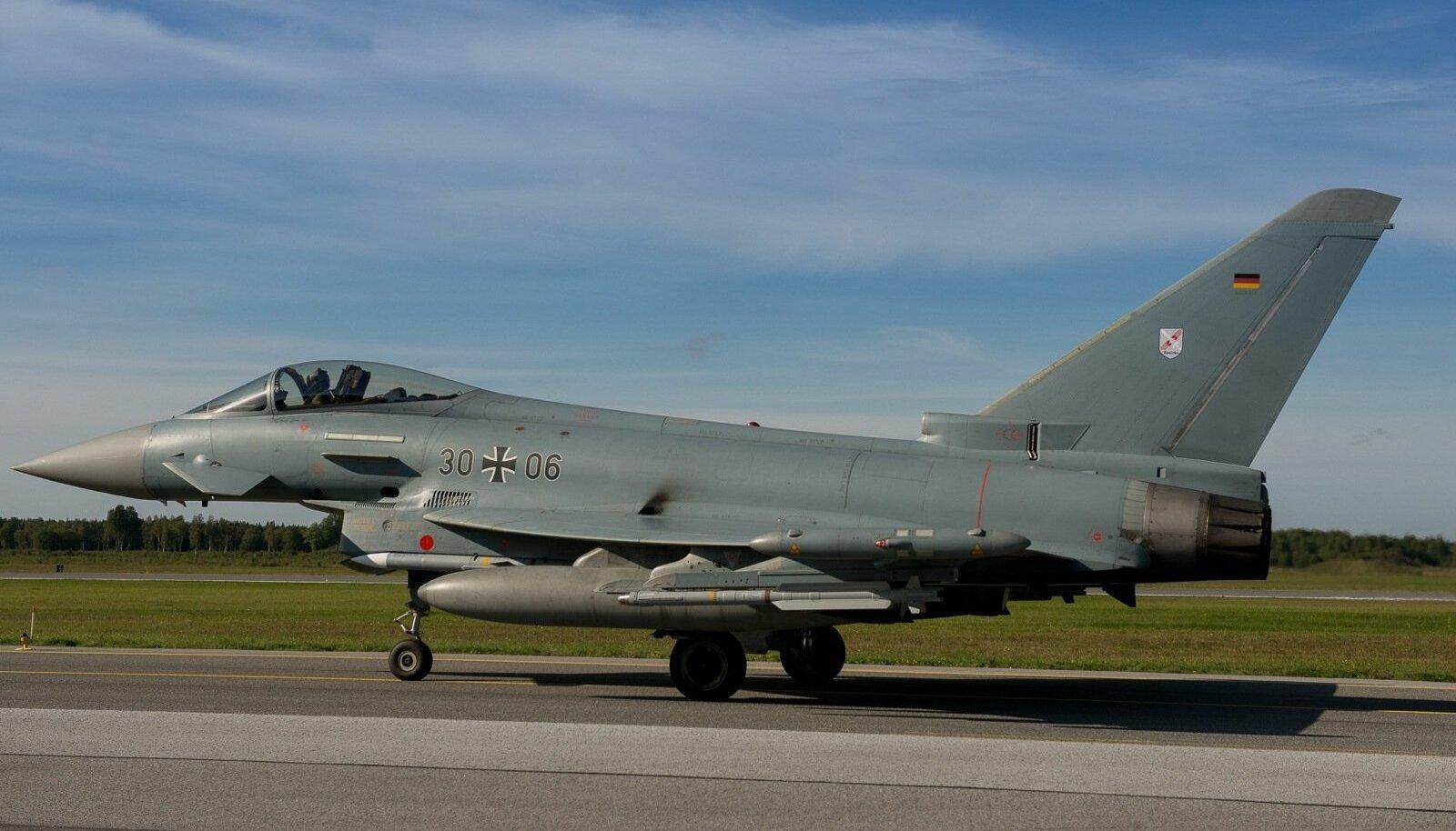 Saksa õhuväe hävituslennuk Eurofighter
