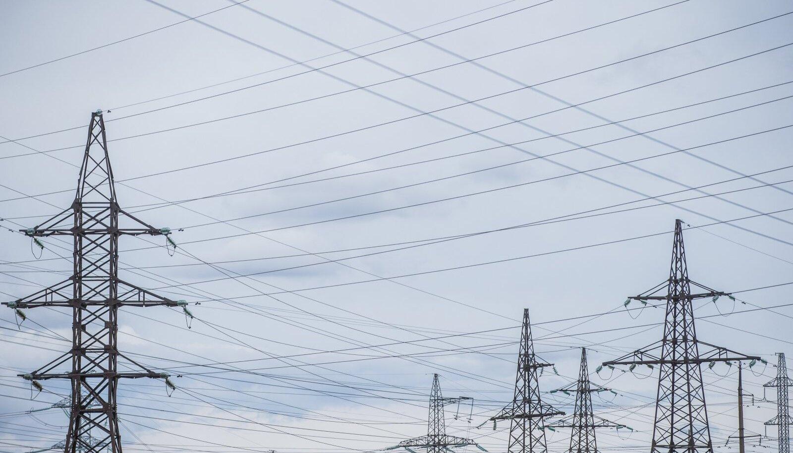 Tuhanded kliendid on hetkel Eestis elektrita (pilt on illustratiivne).