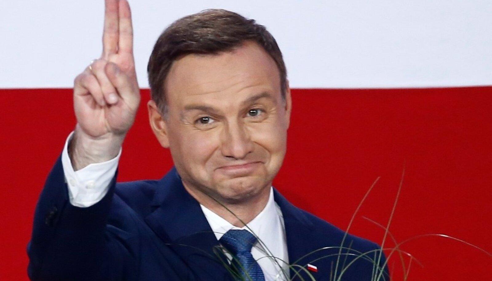Poola president Andrzej Duda