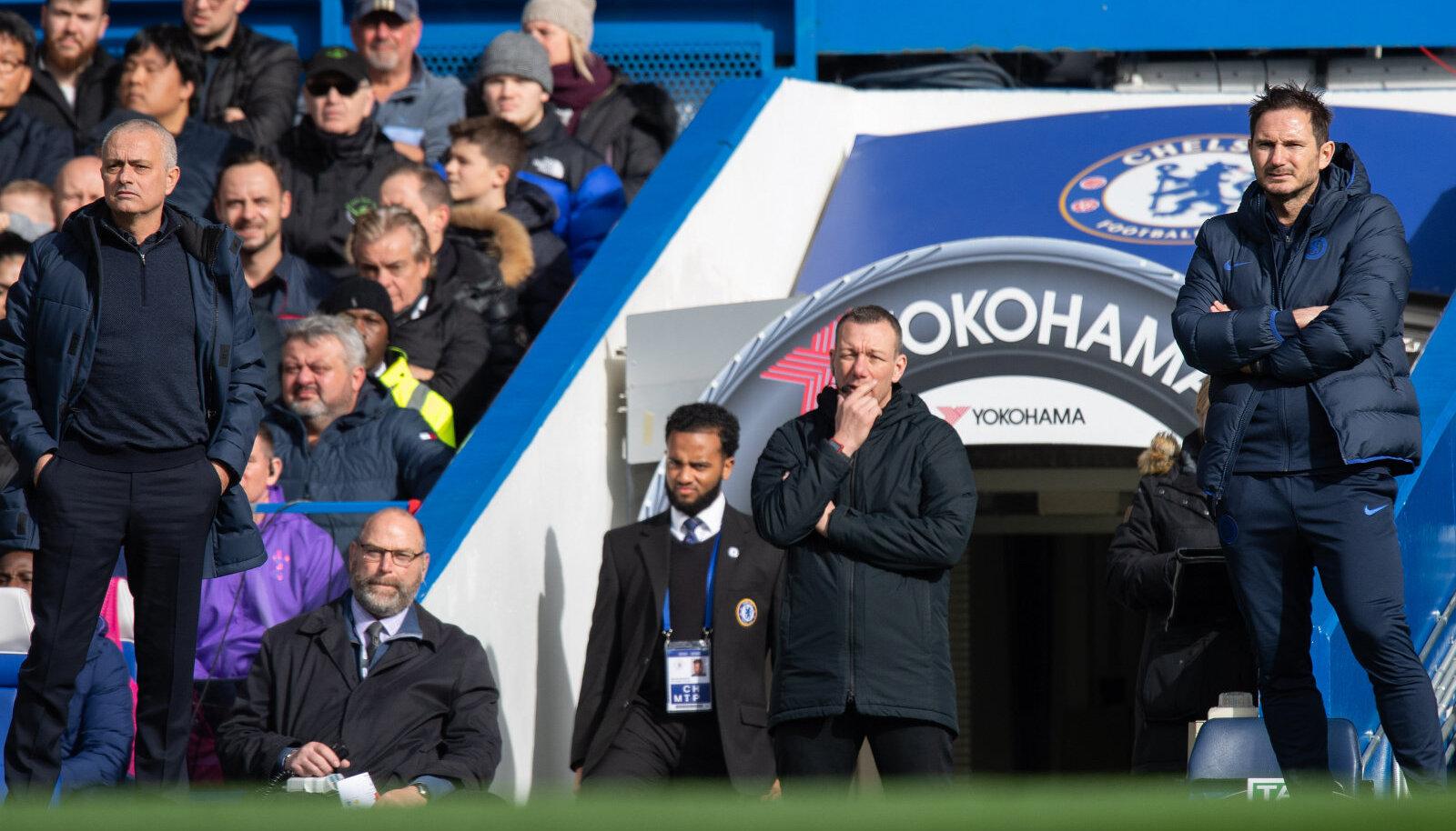 Jose Mourinho ja Frank Lampard