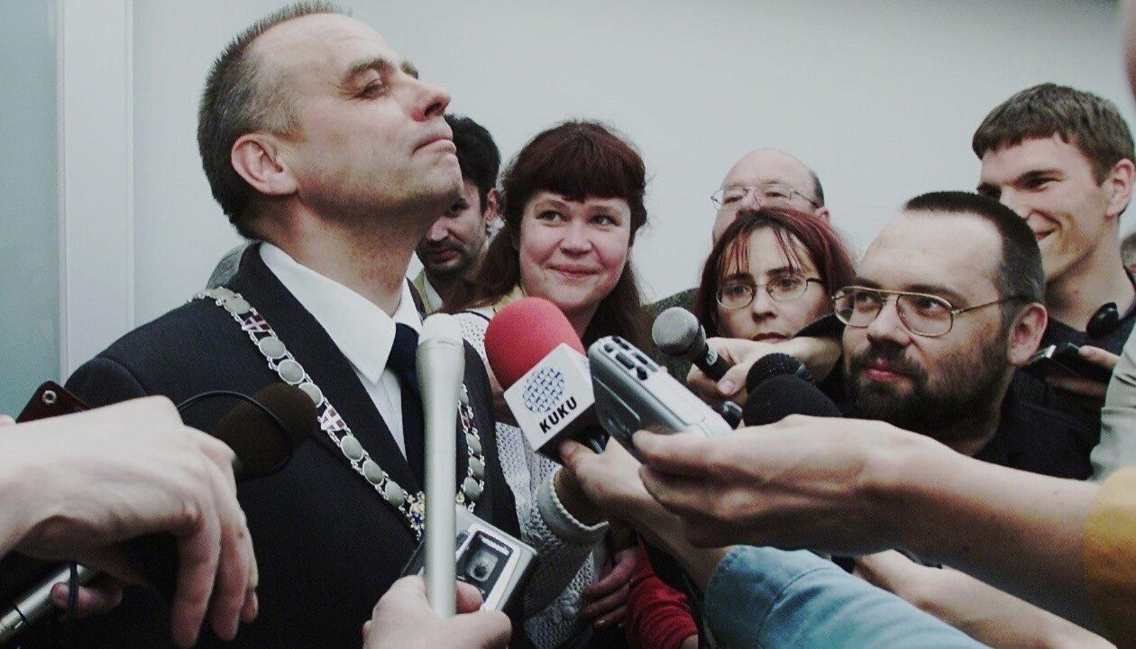 NII KUUM ON TUNNE: 2001. aasta. Tõnis Palts on just valitud Tallinna linnapeaks.