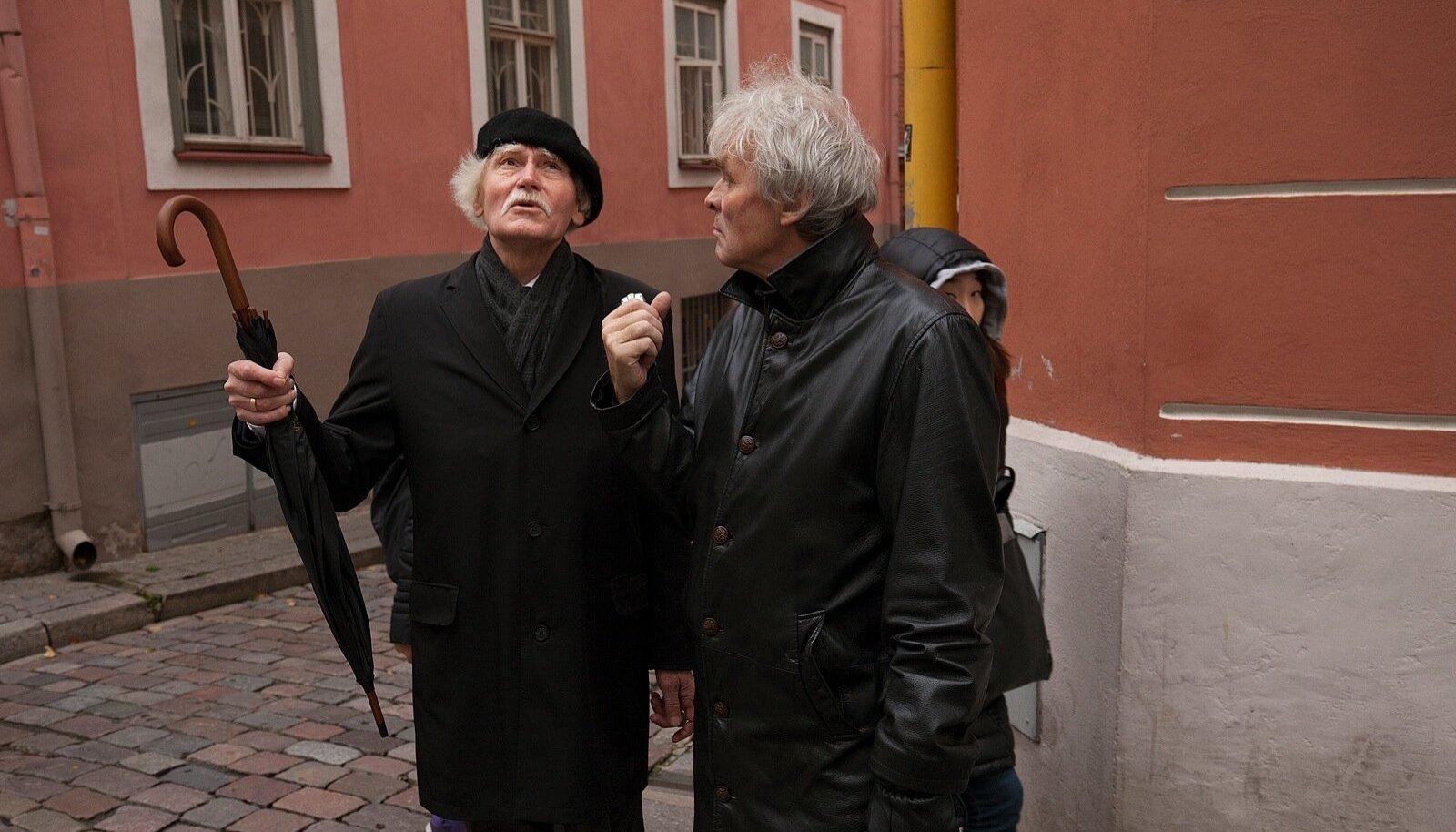 Jüri Kuuskemaa on rahul, et Tallinna vanalinnas pole väga suuri ümberehitusi tehtud.