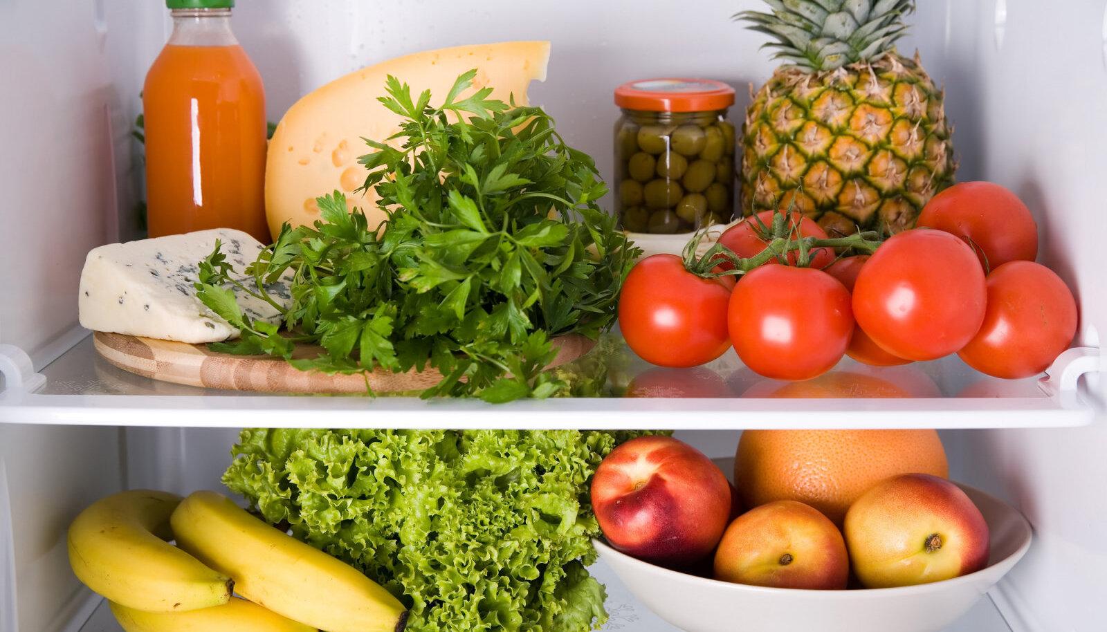 Milliseid puu- ja köögivilju ei tasu panna külmkappi?