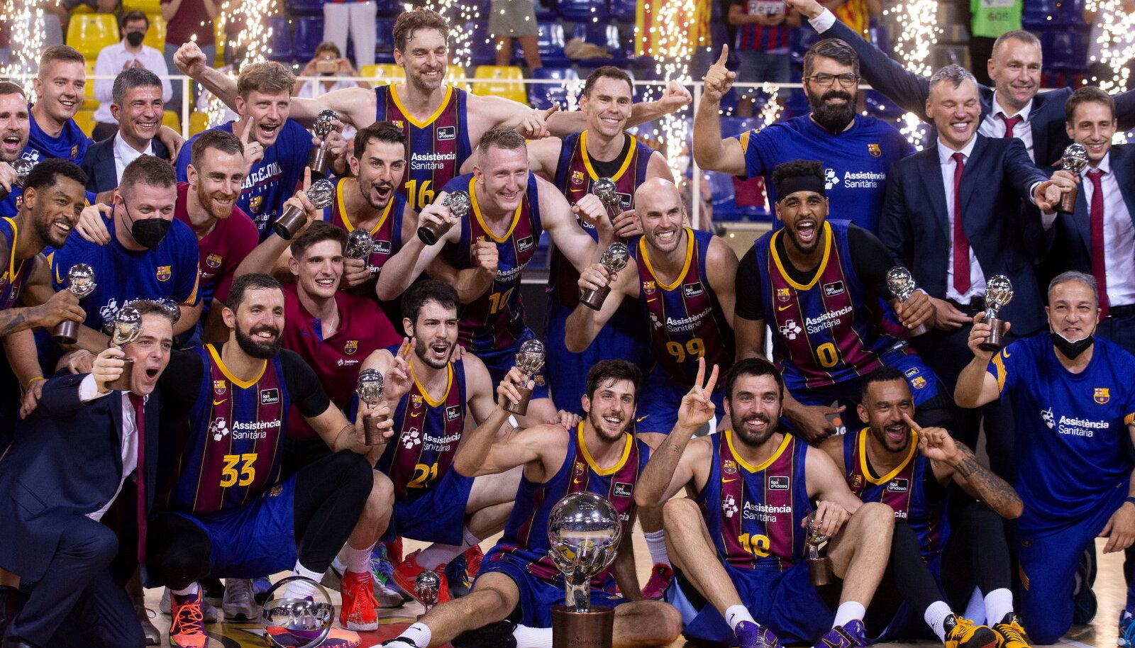 FC Barcelona krooniti Hispaania meistriks