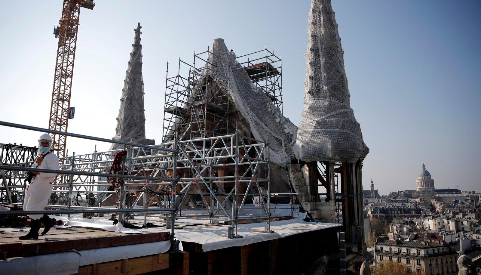 Rekonstrueeritav Notre Dame'i katedraal