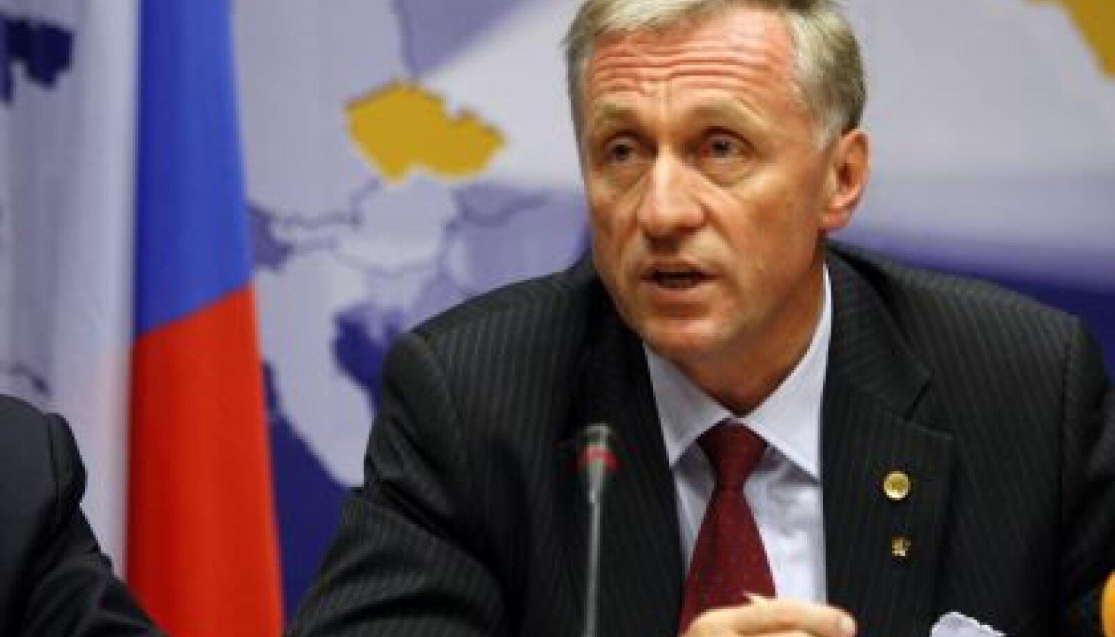 Tšehhi peaminister Mirek Topolánek