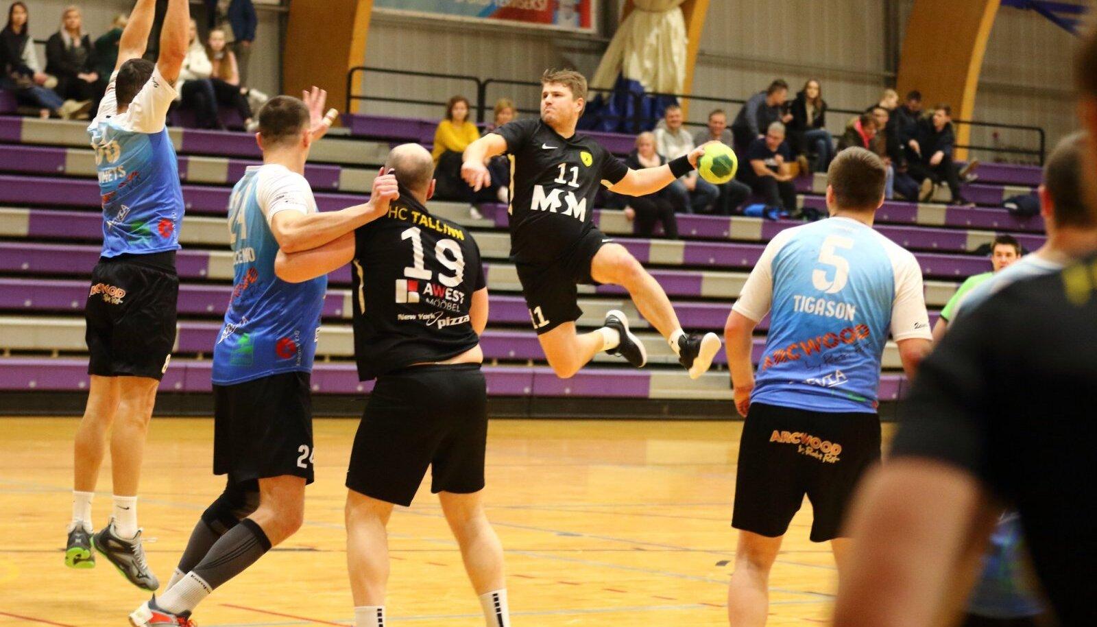 Hetk ühest viimasest mängust poolikuks jäänud eelmisel hooajal, vastamisi Põlva/Arcwood ja HC Tallinn 2.