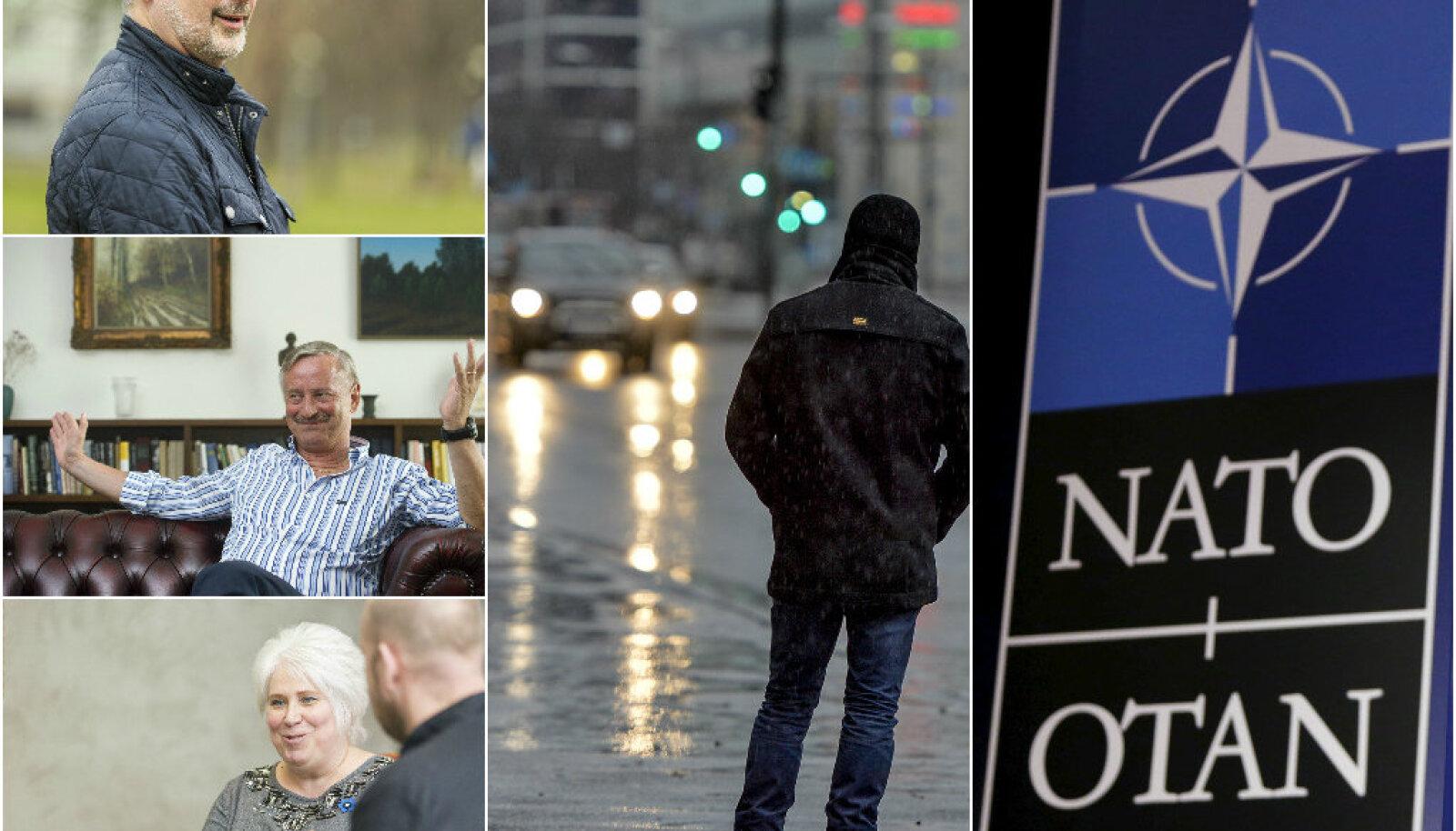 presidendiralli, vihm, NATO