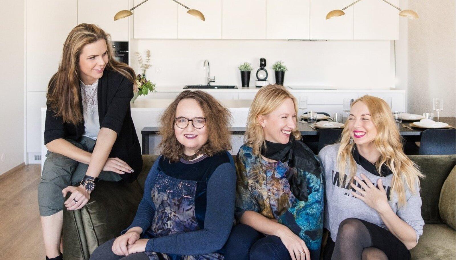 Merje Merdik, Sandra Jõgeva, Anu Madjak, Anett Kutti