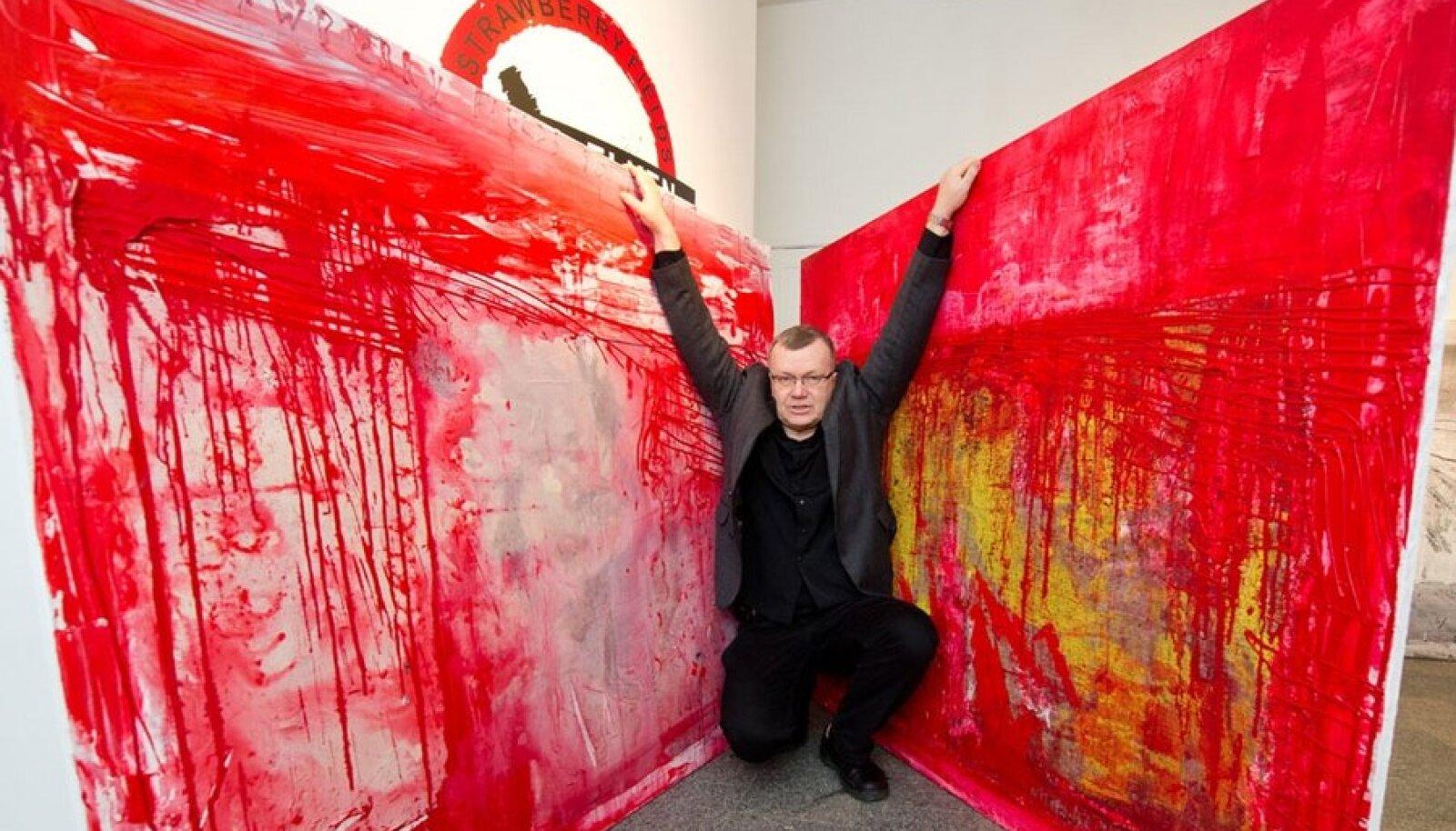 Maalija ja kunstnike liidu staažikas juht Jaan Elken soovib edaspidi emotsioonid loomingule hoida.