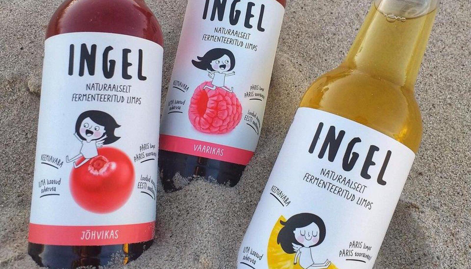 Väikese vahemärkusena ja etteruttavalt võib öelda, et nii inspiratsioon kui nimi Ingel limonaadide loomiseks pärineb joogimeistri tütrelt.