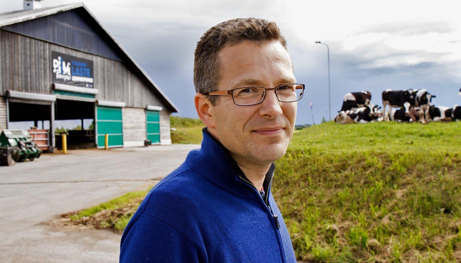 Aasta põllumees 2017 Margus Muld nendib, et pea igas suuremas farmikompleksis on siiani abiks olnud ka võõrtöötajad.