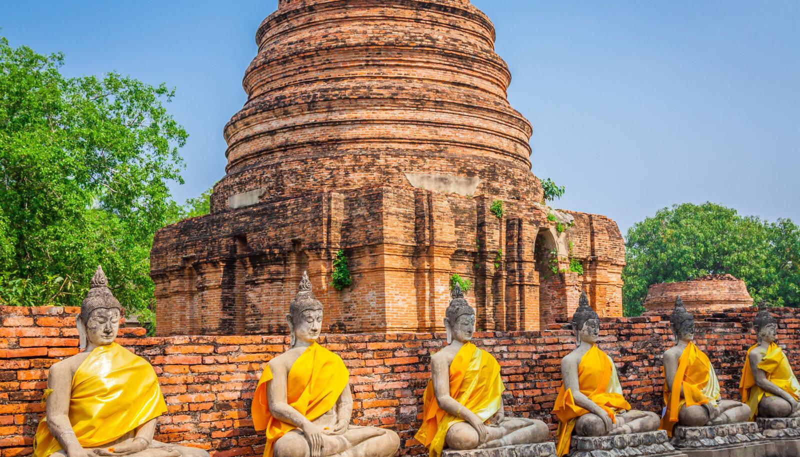Wat Yan tempel Tais
