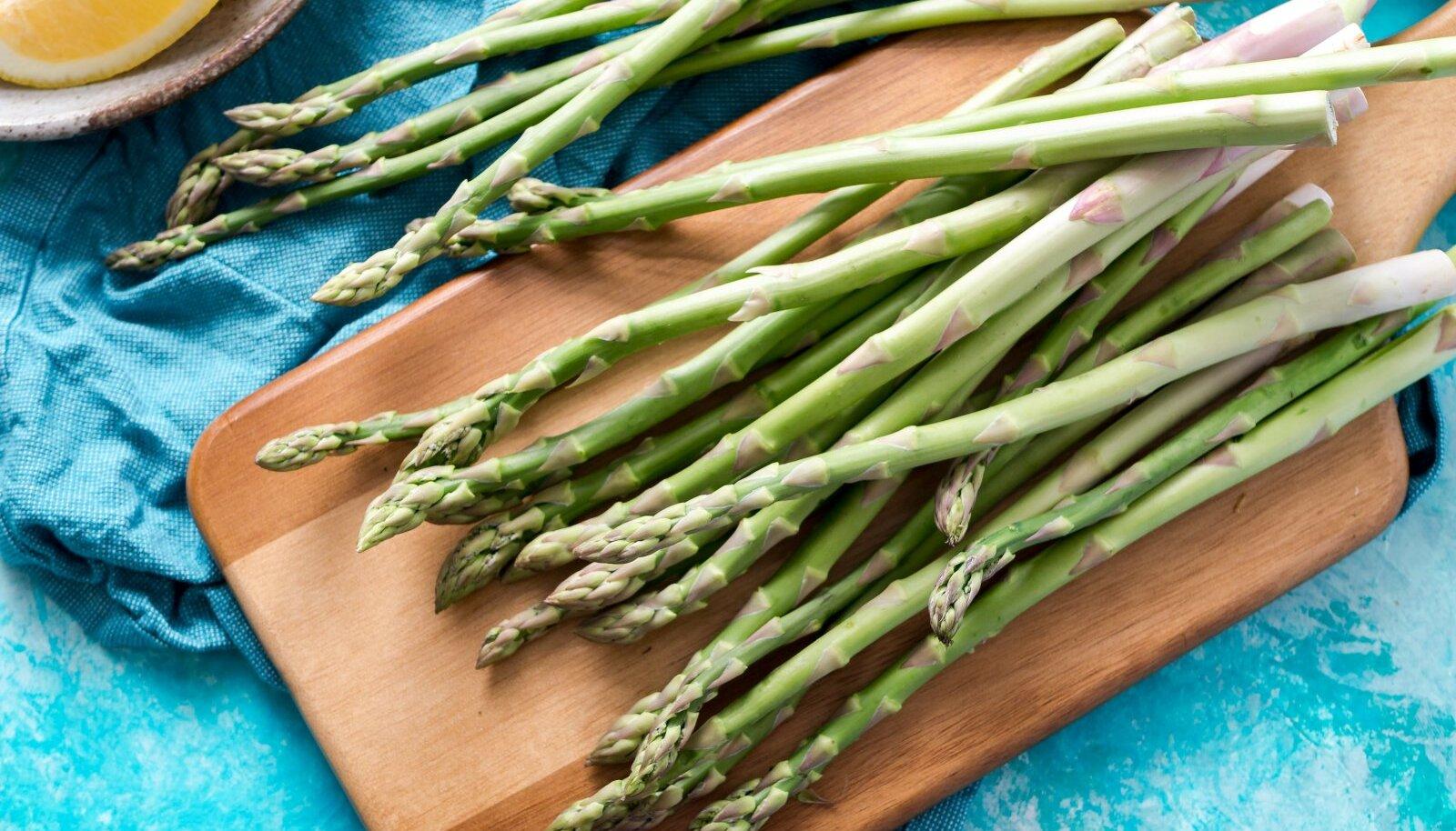 Spargel on varaseim kevadine köögivili