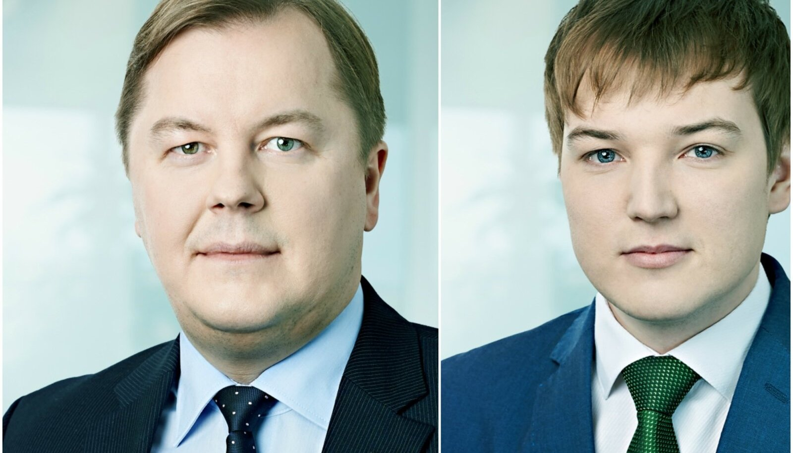 Raidla Ellex vandeadvokaat Arne Ots ja advokaat Rauno Klemm.