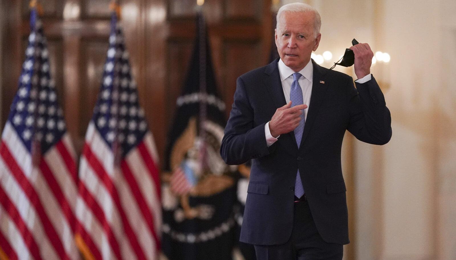Joe Biden saabub kõnet pidama