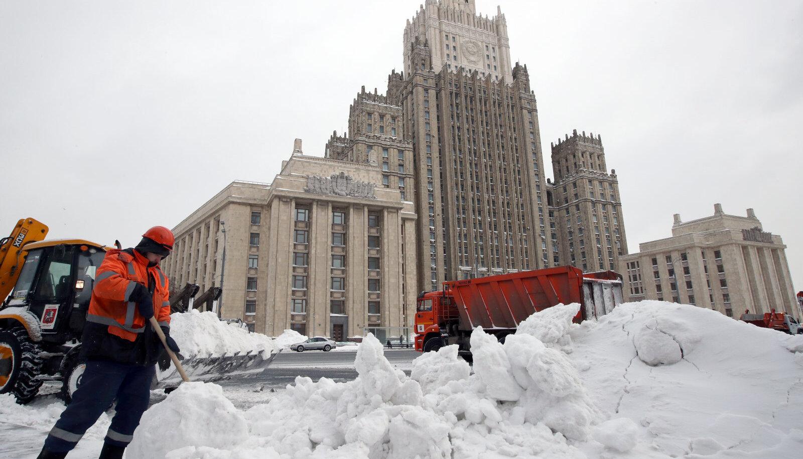 Venemaa välisministeeriumi hoone Moskvas
