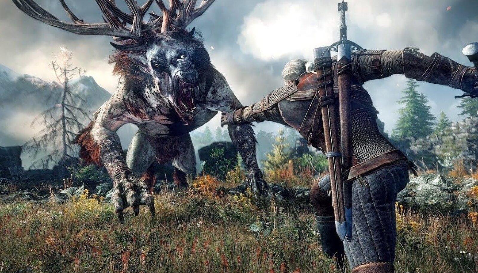 "CD Projekt Red'i senine tippteos ""The Witcher 3"" (tootja pilt)"
