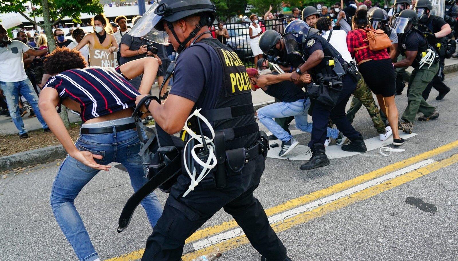 USA protestid 30.05