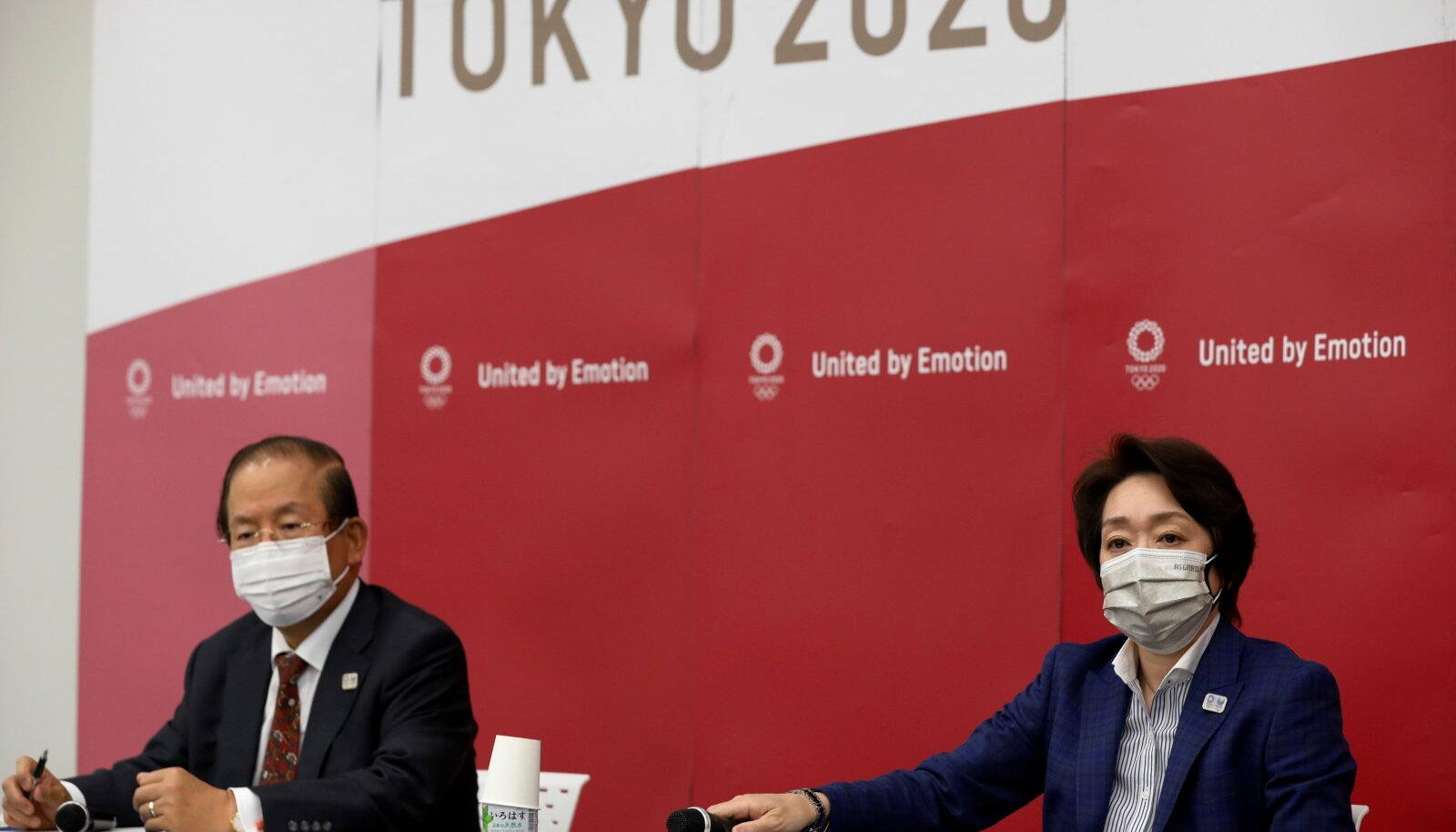 Tokyo olümpia korralduskomitee pressikonverents