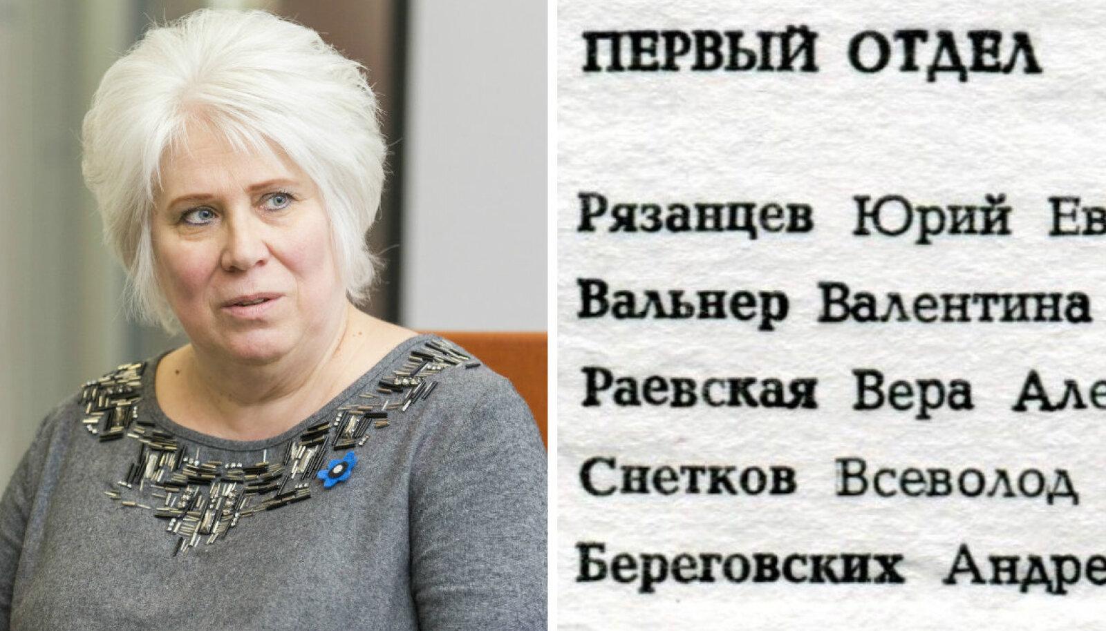 Tuleb välja, et välisminister Kaljuranna ema töökoht oli arvatust erilisem