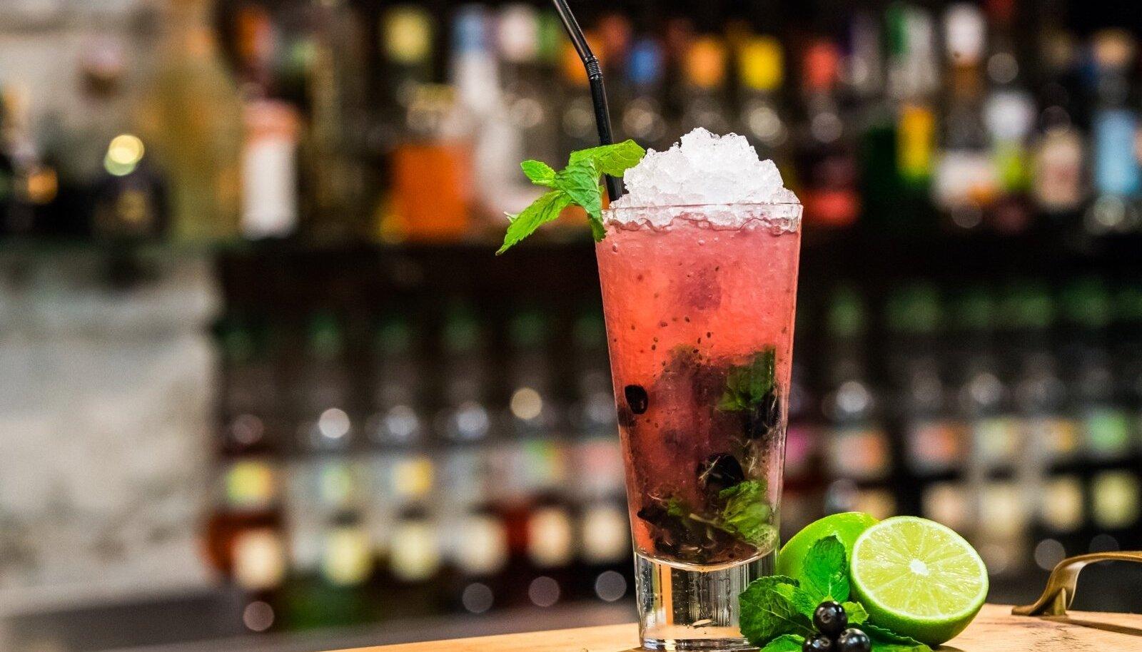 Alkoholivabad kokteilid